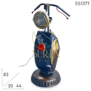 SS1377 SUREN SPACE Motor Design Upcycled Table Lamp Design