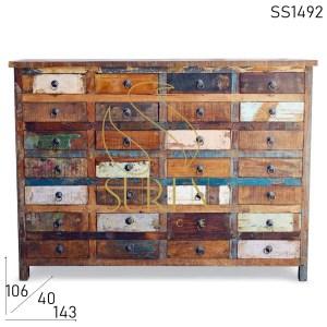 SS1492 Suren Raum Multi Schublade Design zurückgefordert Holz einzigartige Schublade Brust