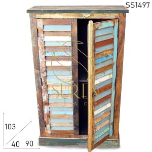 SS1497 Suren Space Multi Colored Distress Finish Cabinet Design