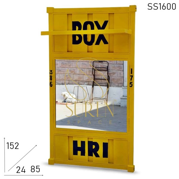 SS1600 Suren Space Hand Painted Container Theme Bathroom Mirror