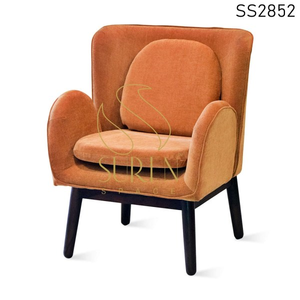 Upholstered Stylish Design Accent Chair