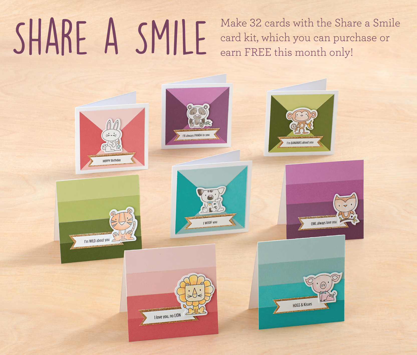 CTMH OCTOBER SPECIAL - Share a Smile