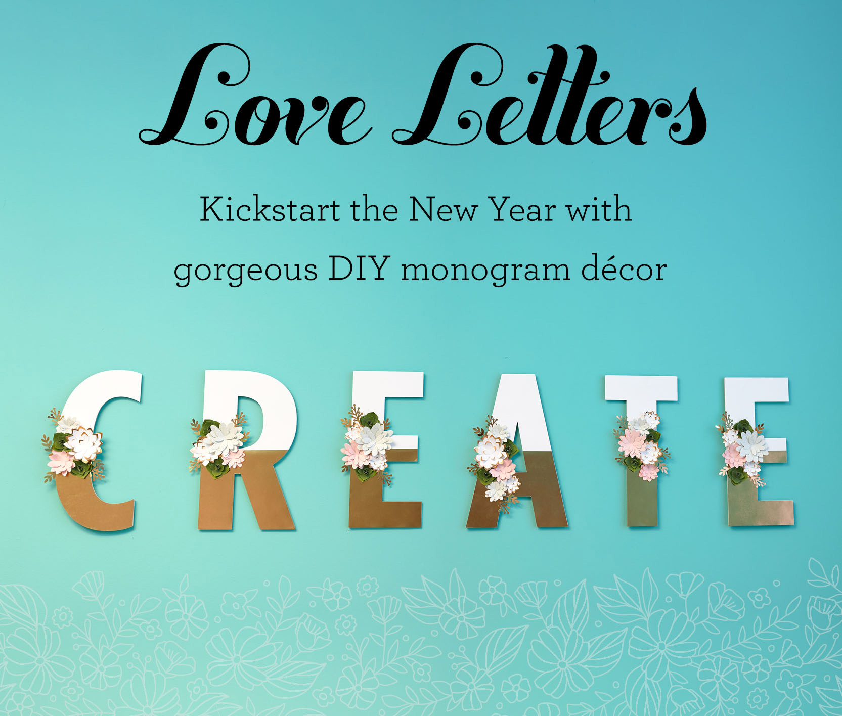 CTMH JANUARY SPECIAL - Love Letters