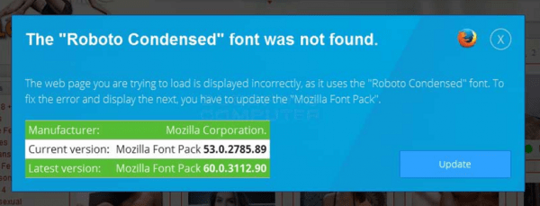 """Download Get Rid Of """"The Roboto Condensed Font Was Not Found"""" Scam ..."""