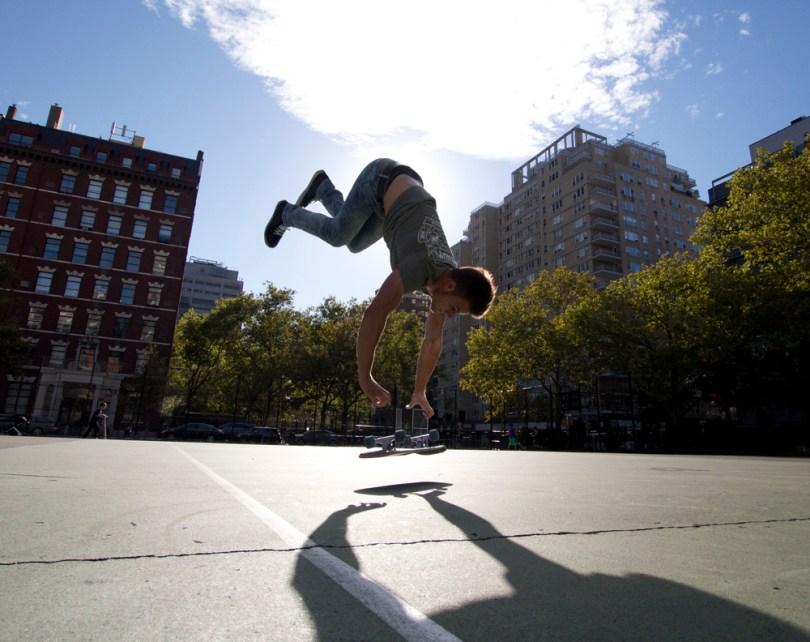 Kyle Handstand