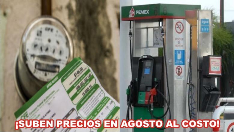 Luz Cfe Y Gasolina Pemex Hacen Su Agosto Sureste Informa