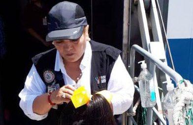 SSY implementa vigilancia sanitaria en estación marítima de Progreso