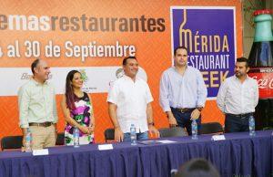 El alcalde Renán Barrera ofrece mayor impulso a eventos turísticos y culturales que distinguen a Mérida en el país y el mundo