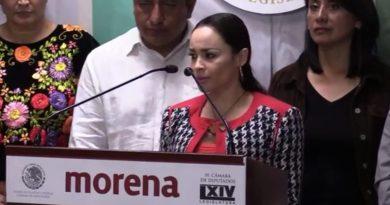 El Grupo Parlamentario de Morena exhortó respetuosamente al Gobernador de Quintana Roo Carlos Joaquín González por el caso de Edith Encalada.