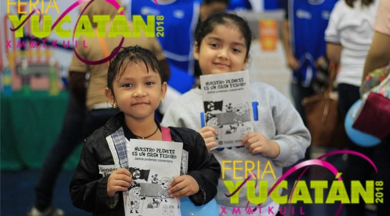 A pesar del clima, continúan las actividades en la Feria Yucatán Xmatkuil 2018