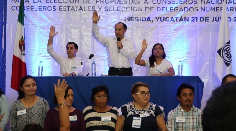 INICIAN PROCESO DE RENOVACIÓN DISTINTOS ÓRGANOS DEL PAN YUCATECO.