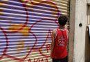 Policía Municipal detiene a grafitero