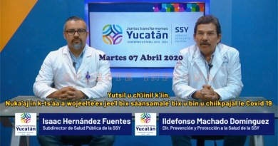 #QuédateEnCasa: Yucatán con 4 decesos por el COVID-19: Sube a 78 los positivos y sólo 55 ya se recuperaron