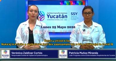 LUNES CON DOS MUERTES MÁS Y 36 NUEVOS POSITIVOS AL COVID-19 EN YUCATÁN: Ya son 153 decesos y 1536 casos positivos al Coronavirus.