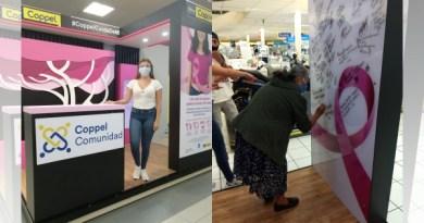 """Coppel Comunidad lanza la campaña """"Un paso adelante"""" y se une a la lucha contra el cáncer de mama"""