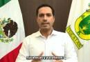 Llama el Gobernador Mauricio Vila Dosal a tomar precauciones y mantenerse informados ante la llegada de la tormenta tropical «Zeta»