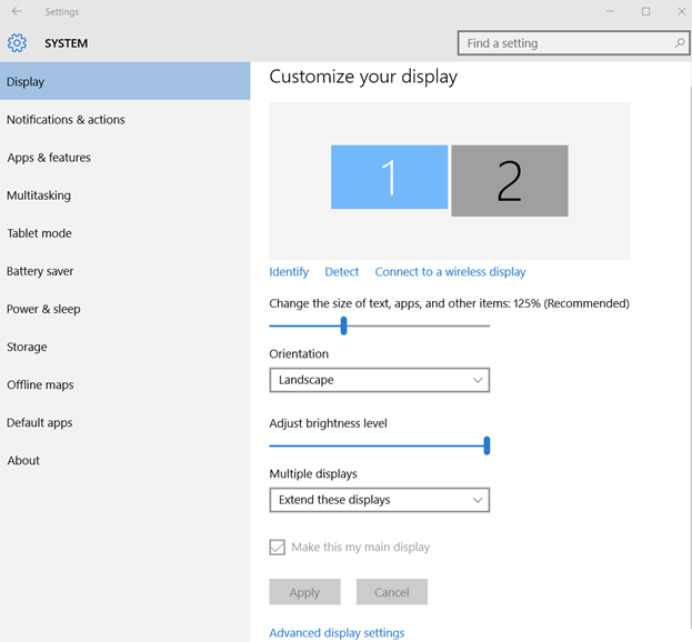 Setup Multiple Displays In Windows 10 How to set up multiple