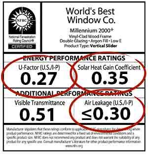 nfrc rating label albany ny