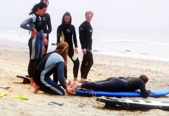 Обучение серфингу | Школа серфинга Surf-Burg