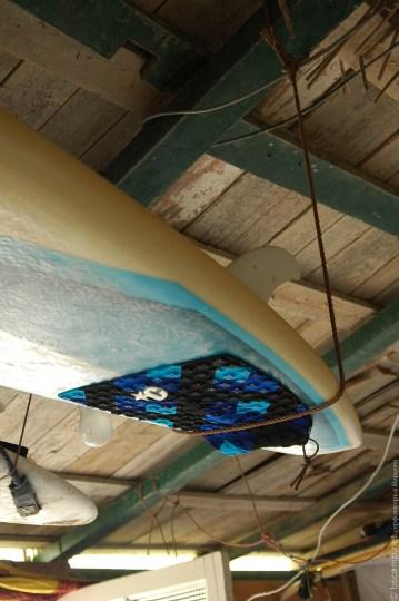 Хранение досок на серф станции | Школа серфинга Surf-Burg