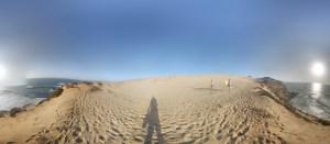 Сферической фото с дюн в окрестностях Tamri