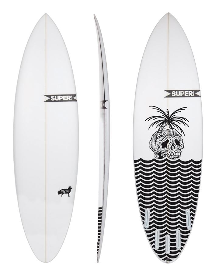 Planche de surf idéale pour les vagues creuses