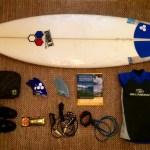 Materiel de surf