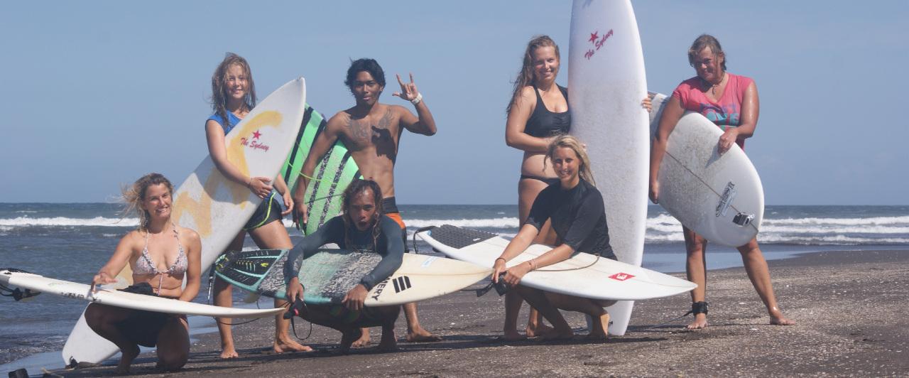 Surftrip nach Java