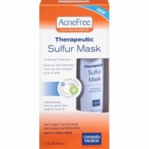 free acne mask sample