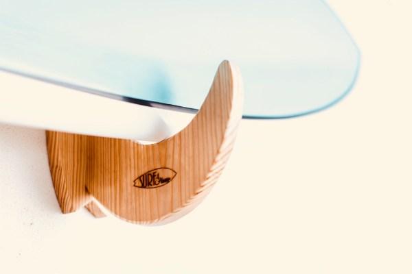 Wooden Surfboard Rack