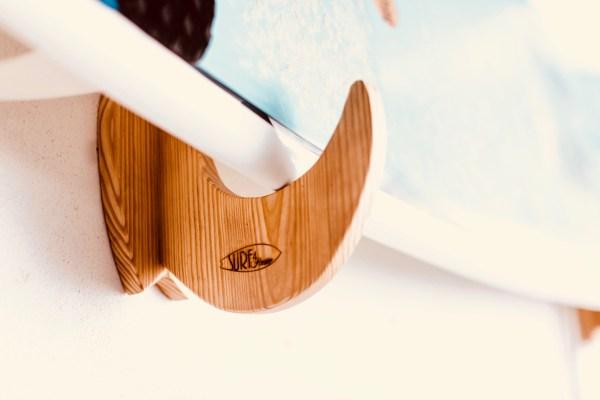 Wooden Surf Rack
