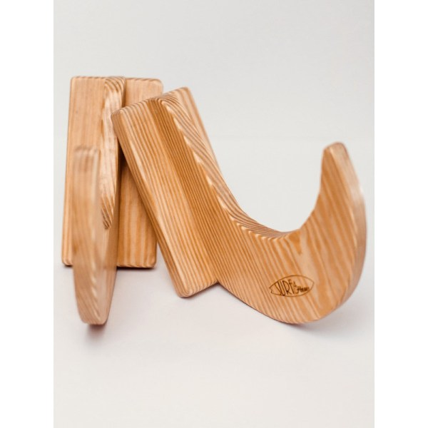 Wooden Surf Rack for Shortboards, Longboards and Snowboards