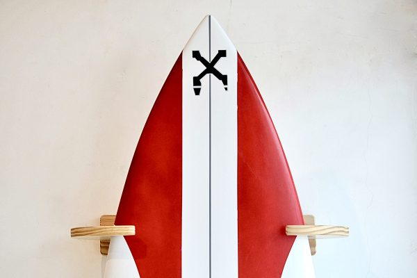 Vertical Wooden Surf Rack by Surf4Home