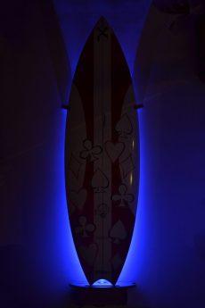Vertical Surfboard Rack