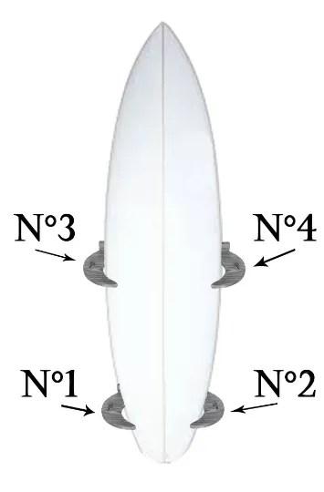 vertical surf rack shabby chic