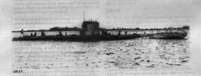 U-Boat SM UB57