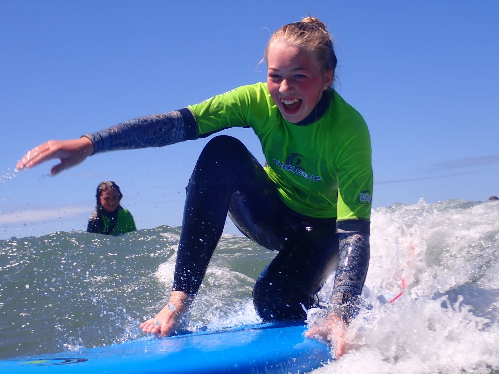 learn to surf at Westward Ho!