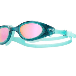 TYR female open water swimming goggles