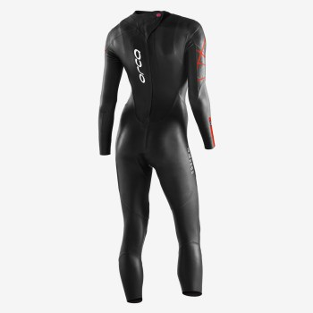 Orca women's thermal wetsuit back