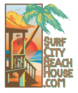 Surf City Orange Logo Transparent Background