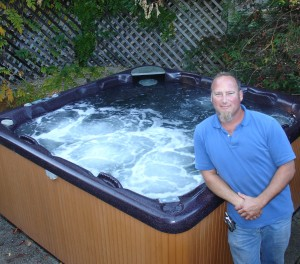 Surf City Pool Spa and Solar owner, Michael Hall