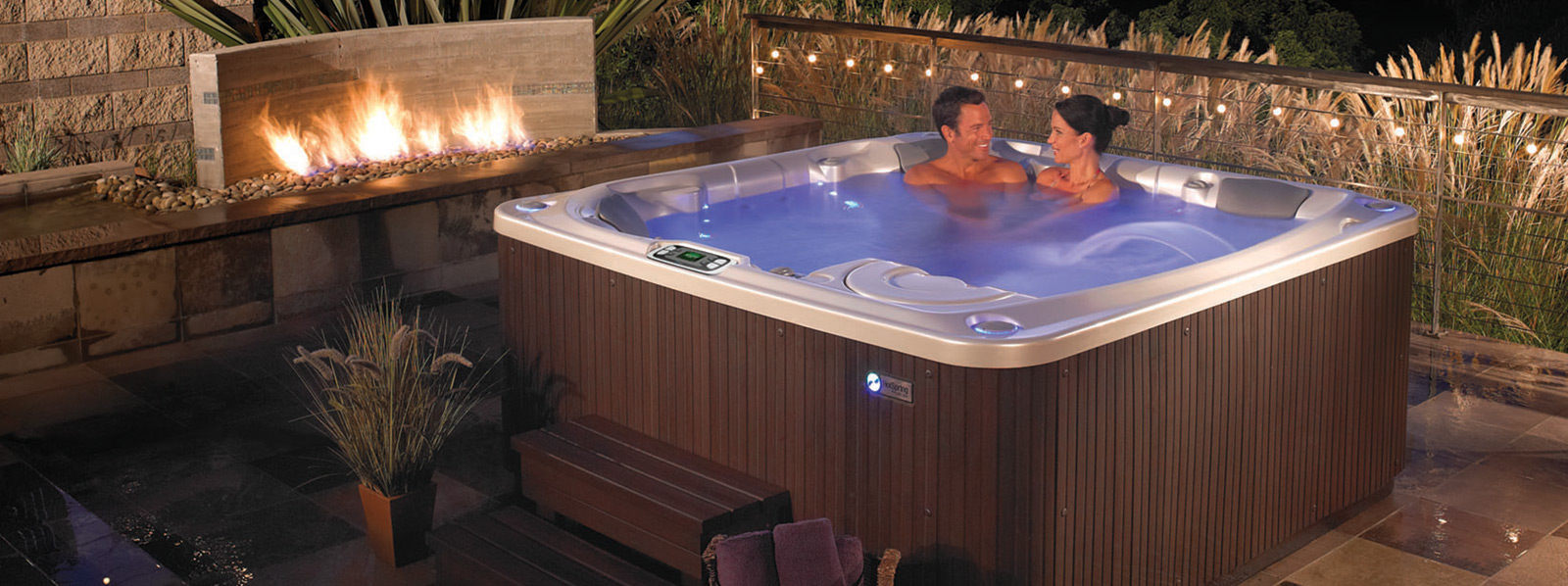 Hot Spring brand hot tub