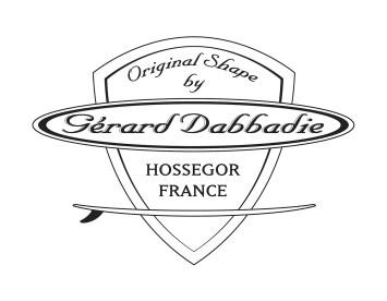 メインシェイパー、ジェラルド・ダバディのロゴ。
