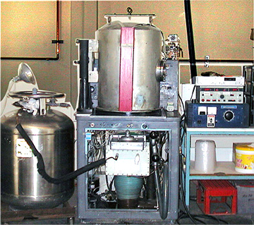 photo of surface engineering technologies plant equipment for Molybdenum Disulfide Machine