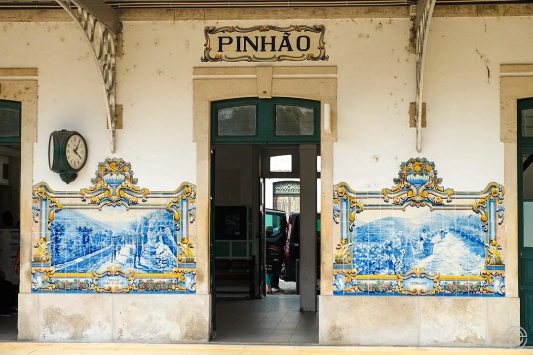 Douro Historical Train Pinhão Station