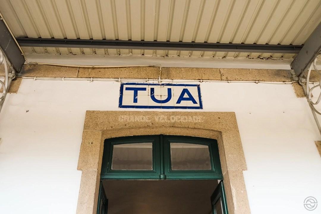 Douro Historical Train Tua Station