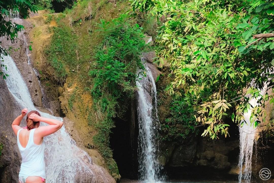 Jungle Waterfall Java Indonesia