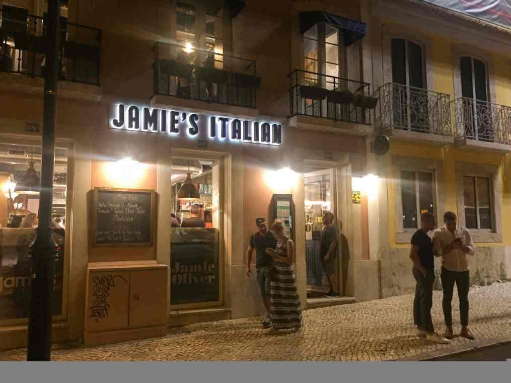 Jamie's Italian Lisboa exterior