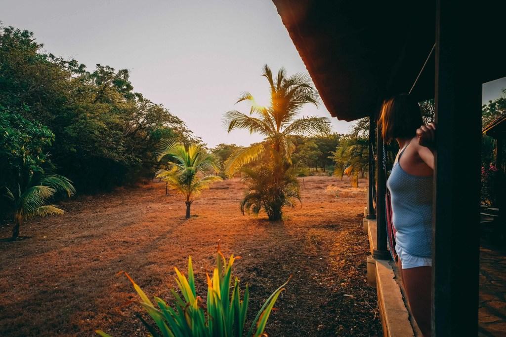 Nascer do sol Nicaragua