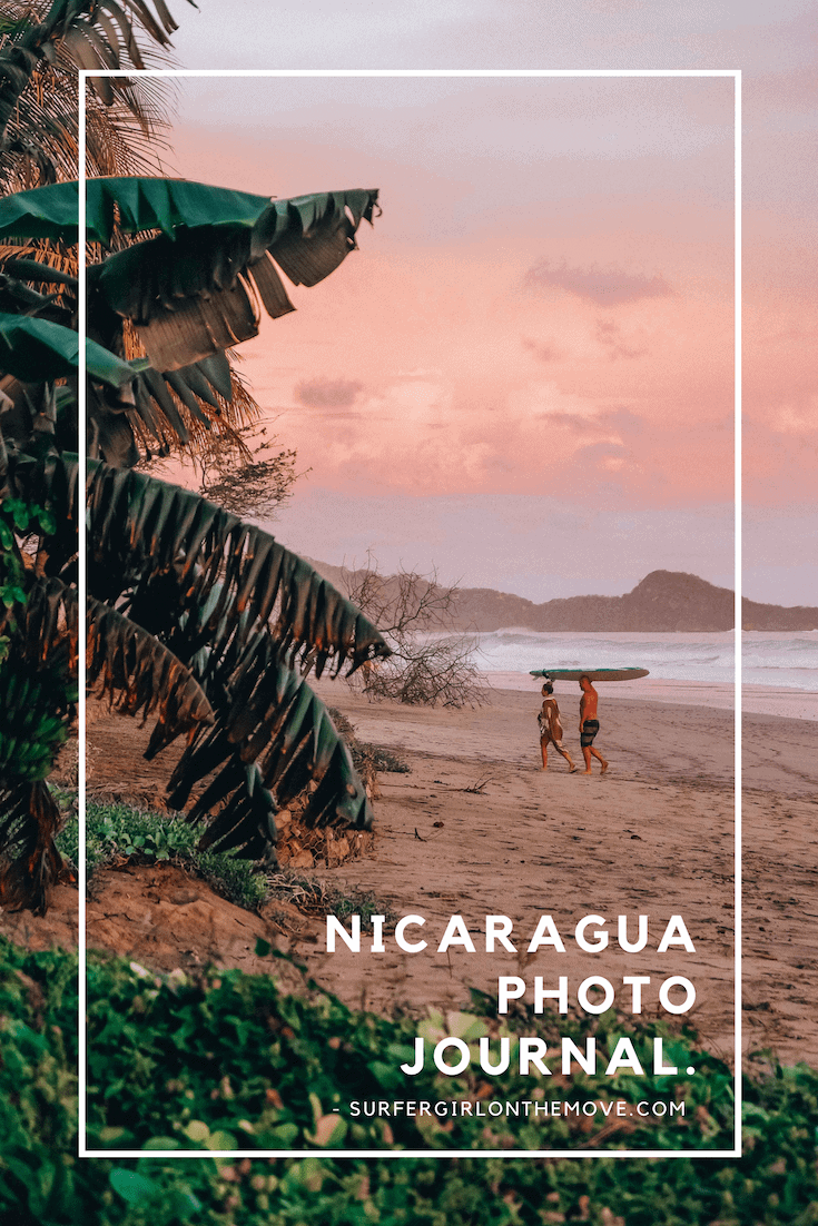 Nicaragua Photo Journal | Surfer Girl On The Move